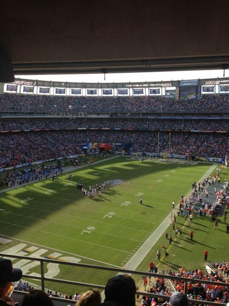 Amazing Qualcomm Stadium Virtual