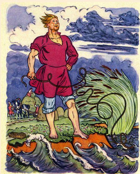 Балда из сказки пушкина картинка