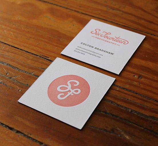 Letterpress Business Card Letterpress Business Cards Square Business Cards Business Card Maker