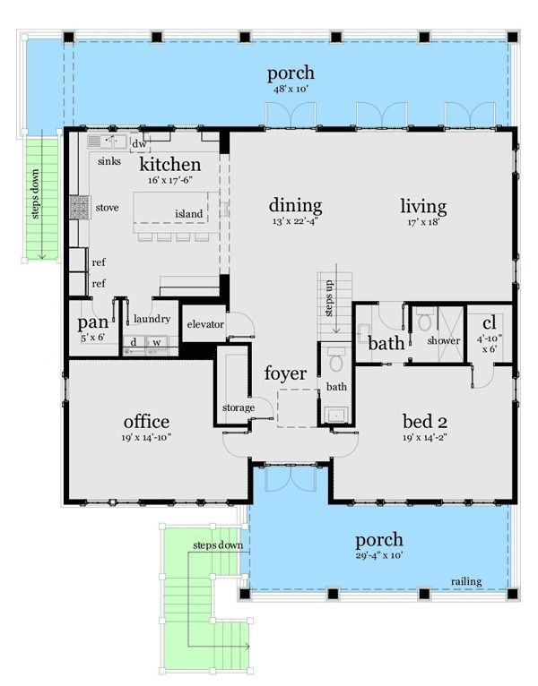 Plan 44117td Ultimate Oceanfront House Plan House Plans Coastal House Plans Beach House Plans