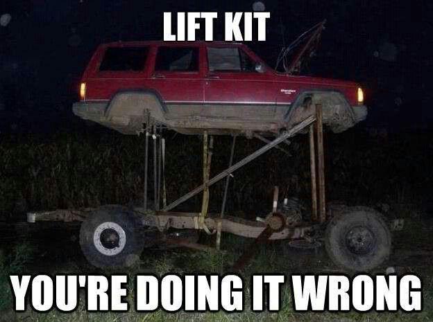 Jeep Lift Kits User Manual