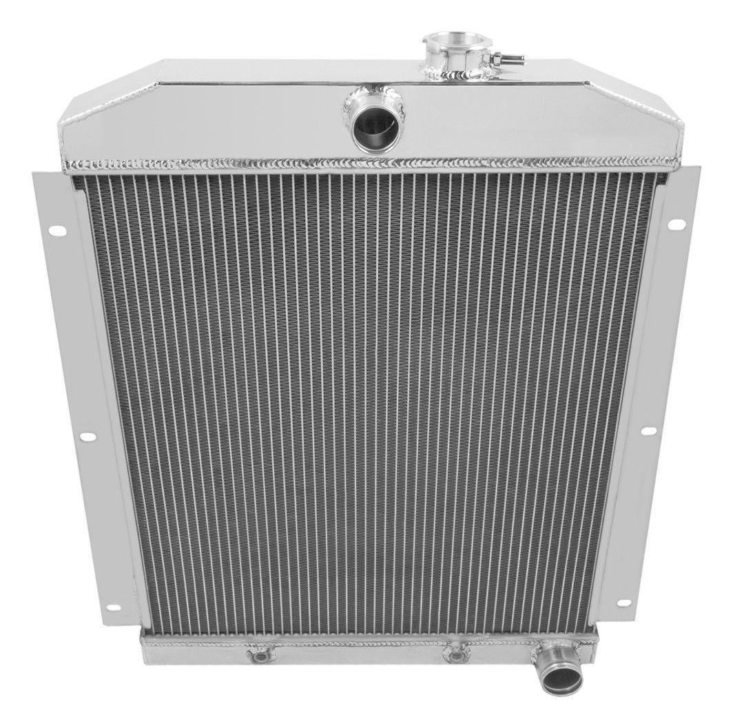 Champion 4 Row Aluminum Radiator MC5100 For 1947-1954 Chevy Trucks Suburban