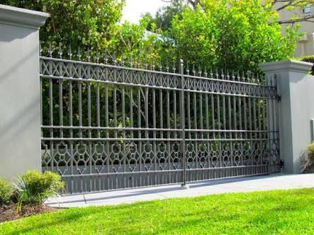 Steel Entrance Gate Brisbane Google Search Entrance Gates
