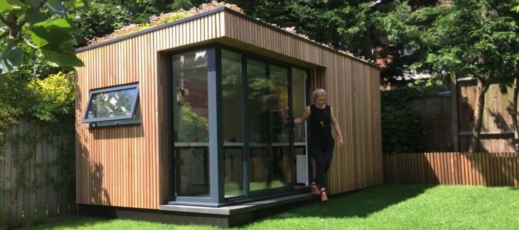 A Luxury Garden Pod For Your Outdoor Space | Green Studios | Shed ...