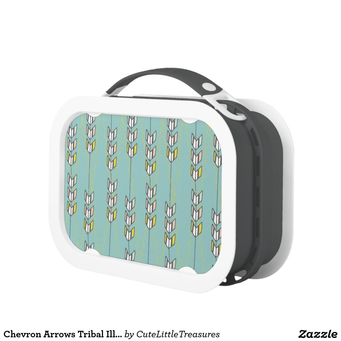 chevron arrows tribal illustration yubo lunchbox zazzle pinterest rh pinterest com Circuit Board Tool Box Circuit Board Tool Box