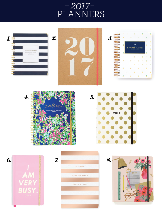 Cute and functional agendas for this coming school year! #preppy #college #organization