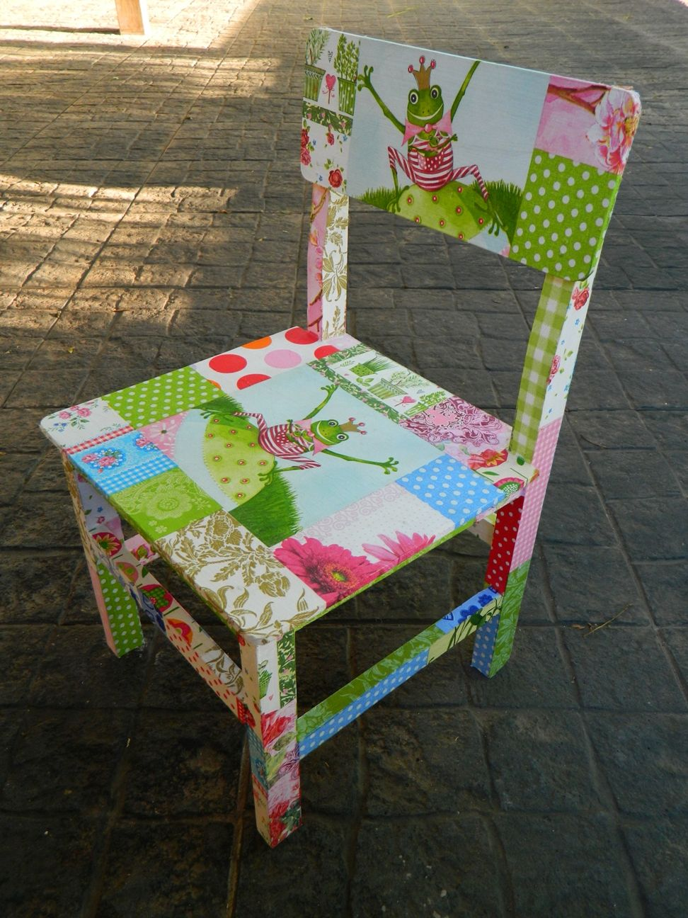 Pin de fernanda aguilar en decoracion para casa muebles - Sillas infantiles ...