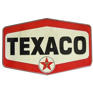 Tin Vintage Texaco Die Cut Sign | Shop Hobby Lobby