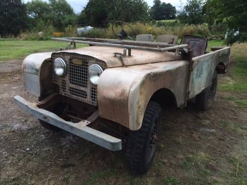 1951 Land Rover Series1 80 inch Project For Sale | 53 Landy