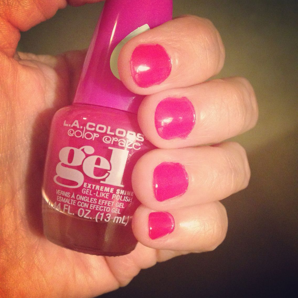 LA Colors Gel in Muse! Love this stuff!!! $2 at Family Dollar