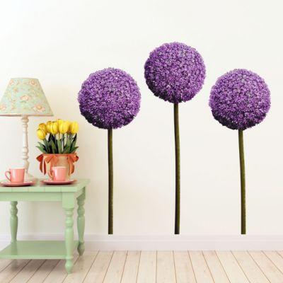 Wandtattoo Allium Kugel Blüten 3er Set 29x21 0.00 Jetzt Bestellen Unter:  Https://