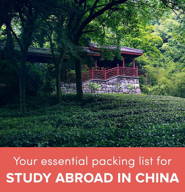 The Essential Packing List for Study Abroad in China