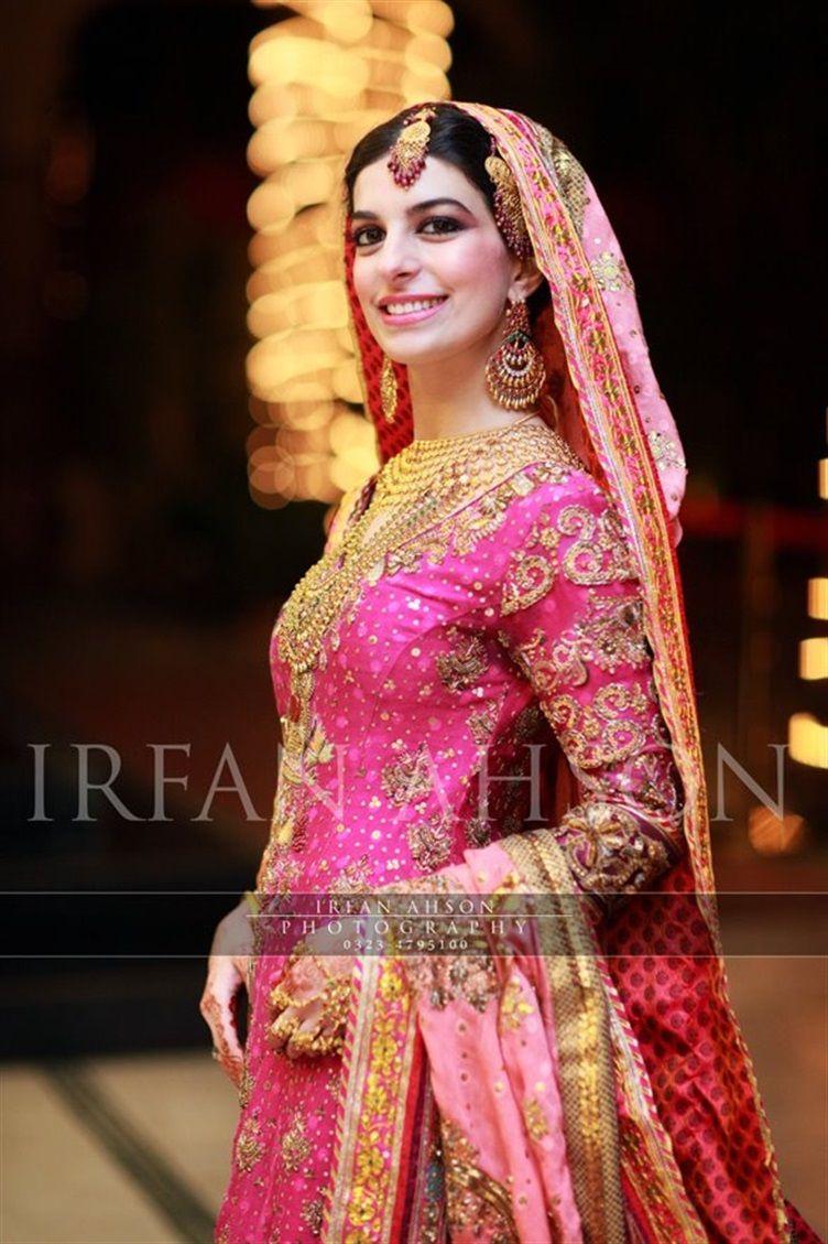 Pakistani Bridal Shararas - Pink Inspiration {Irfan Ahson Photography}