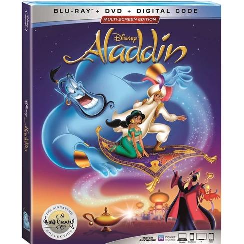 Aladdin Signature Collection Blu Ray Dvd Digital In 2020 Aladdin Dvd Walt Disney Signature Aladdin