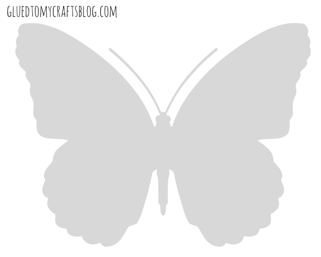 Splat Butterfly Printable