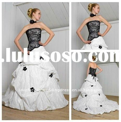 black and white wedding gowns - Google Search