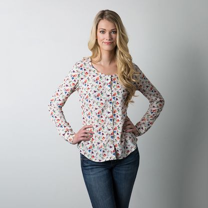 Oakridge Blouse | Sewing | Pinterest