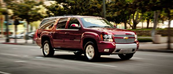 The Chevrolet Suburban Is A Luxurious And Stylish Suv With A