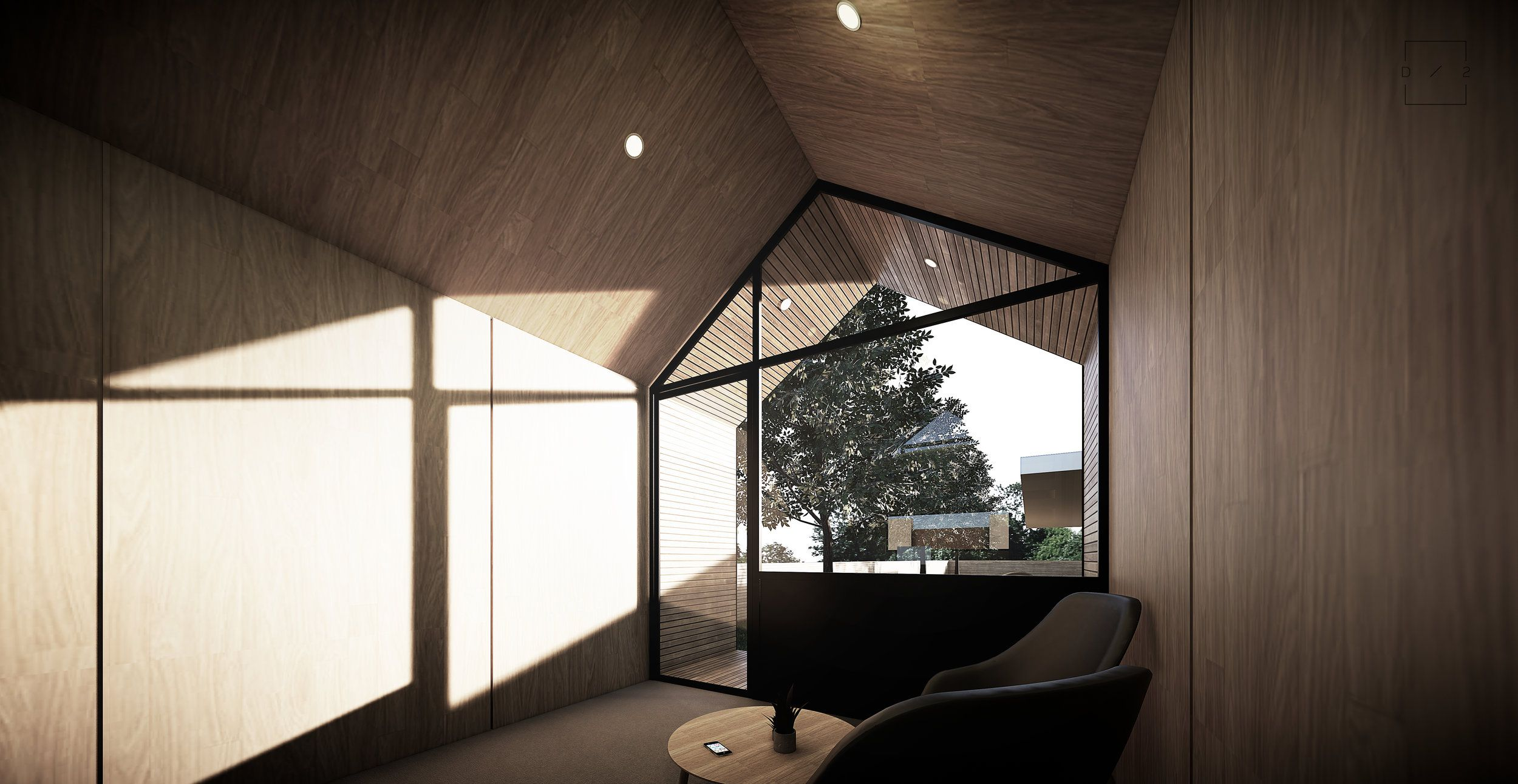 DUO.Interior.Exterior.jpg Cabins and cottages