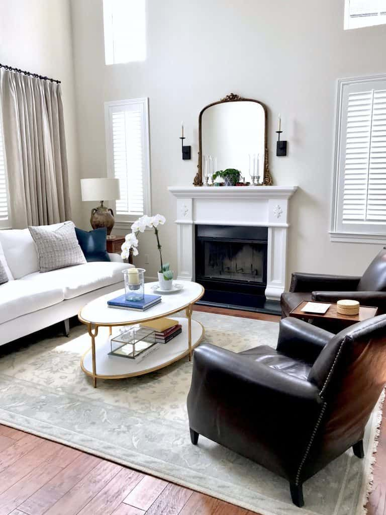 Fresh Classic Living Room and Dining Room Before and After | Living ...