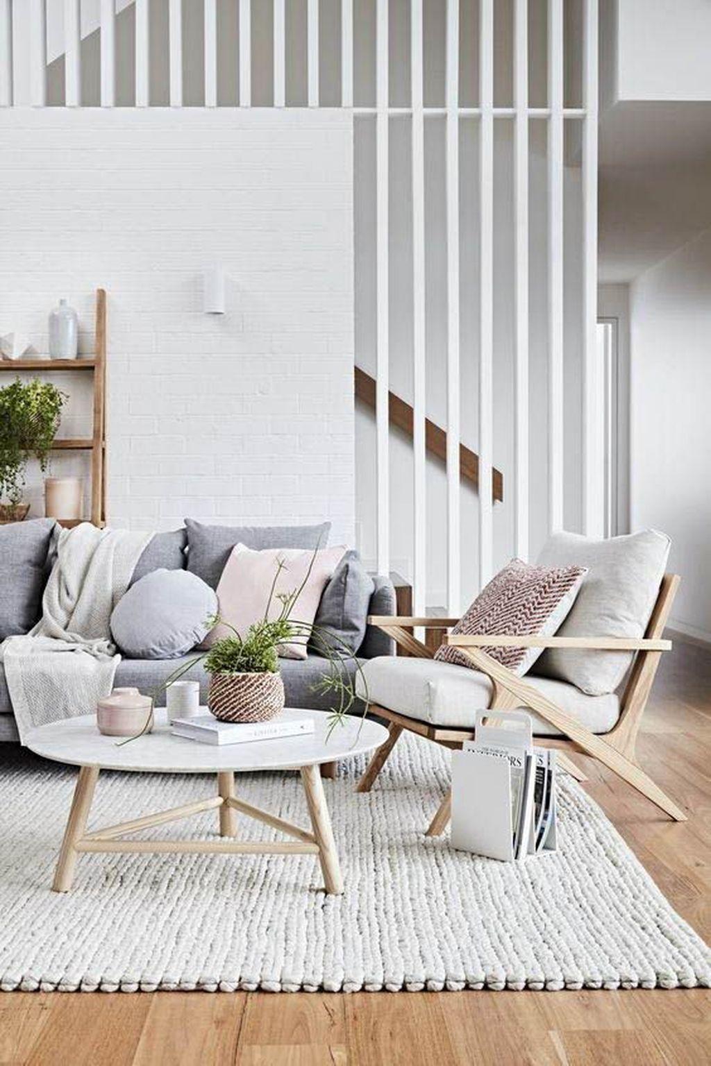 Nice Living Rooms Designs: Nice 38 Enchanting Scandinavian Living Room Designs Ideas