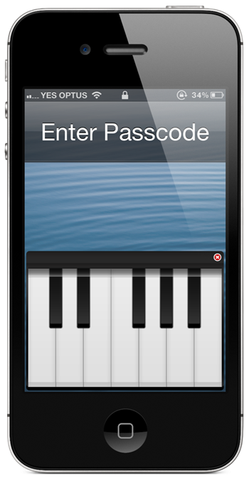 Live Wallpaper For Iphone Cydia Play Piano On Iphone Lock Screen To Unlock The Device