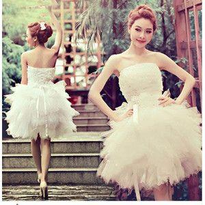 6bf7e49f65323 披露宴 Wedding Dress 結婚式 プリンセスライン ロングドレス 白ドレス 二次会 高級感がある