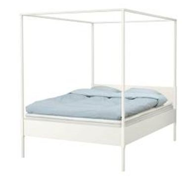ikea full sized canopy bed frame
