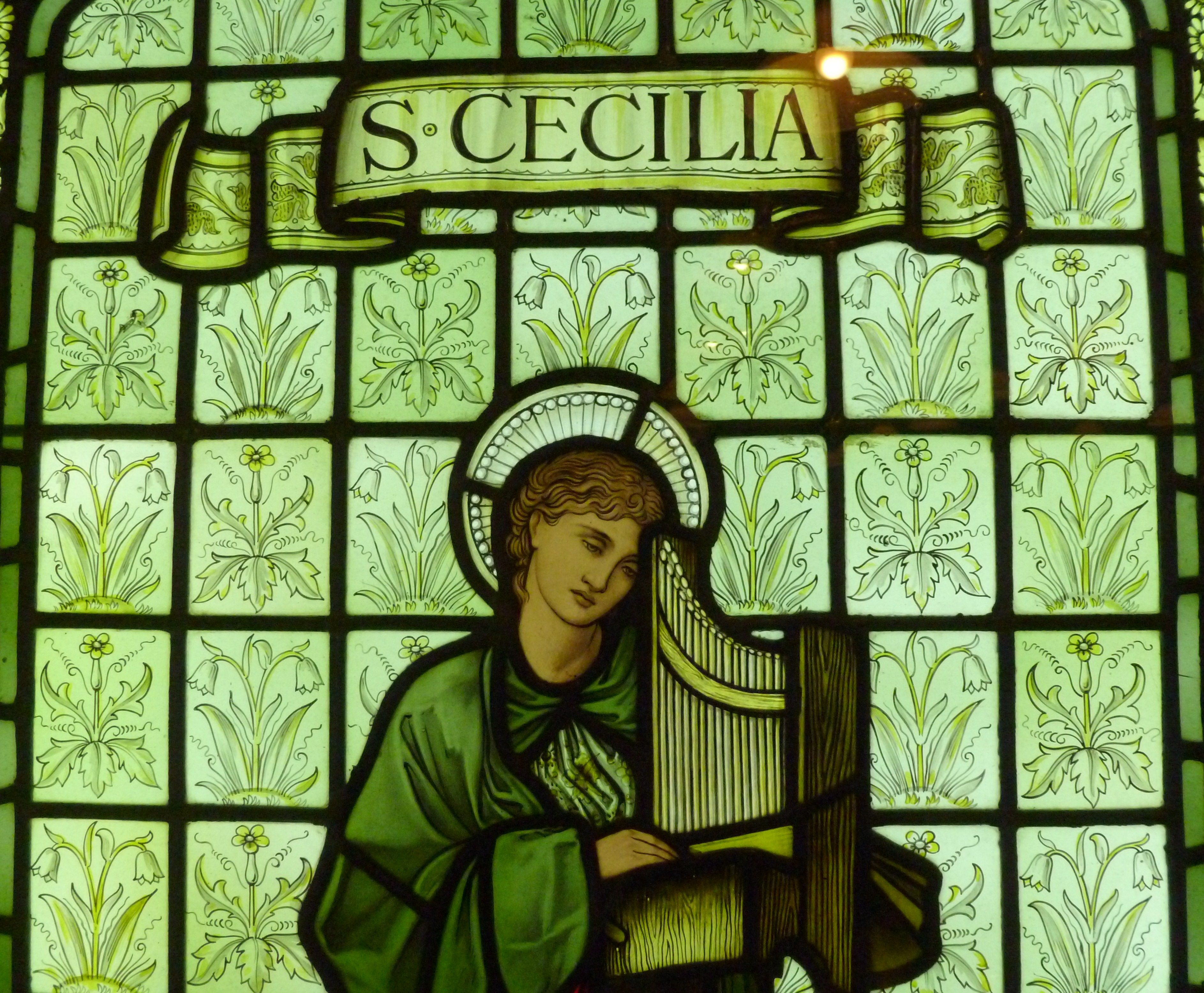 St Cecilia William Morris Gallery Artwork Art William Morris