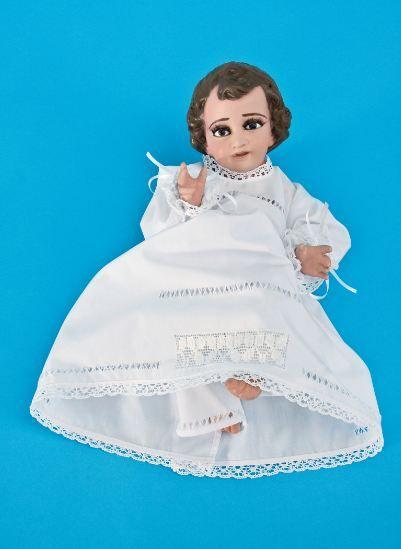 Ropón Niño Dios Niño Dios Vestido Vestidos Para Niñas Y