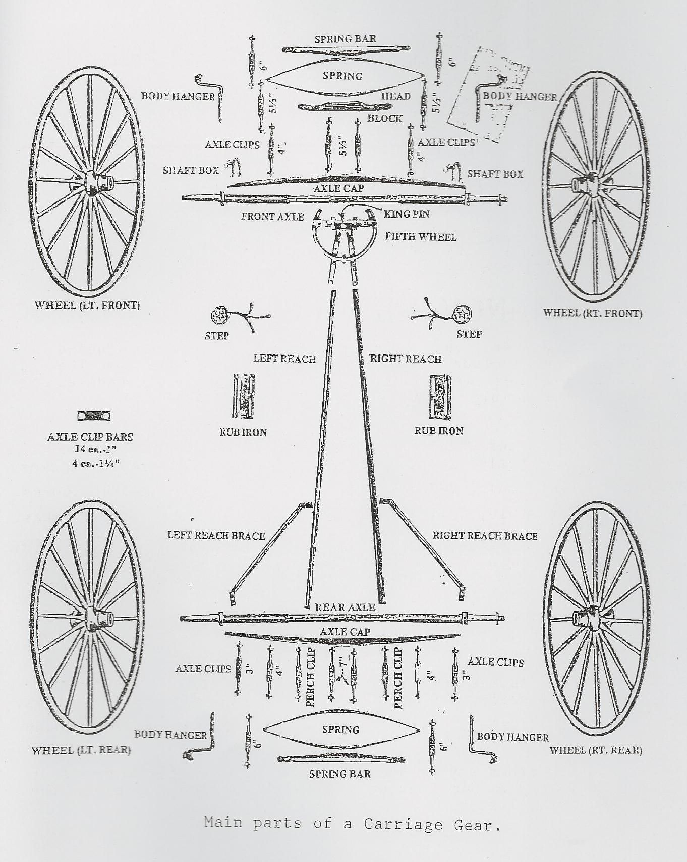 Team Harness Driving Lines Diagram