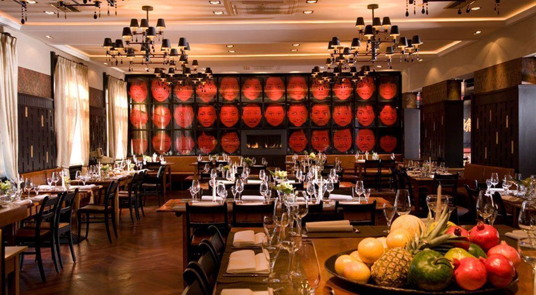 Restaurant und Lounge Garden mit moderner, authentischer Fernost