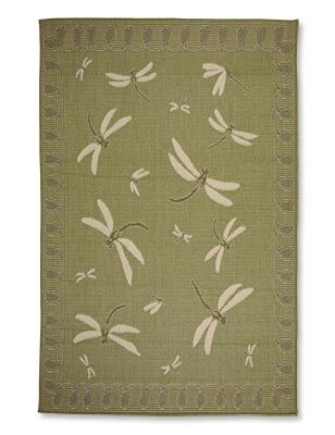 Just Found This Polypropylene Area Rugs Low Profile Indoor Outdoor Dragonfly Rug Orvis On Orvis Com Aqua Rug Dragonfly Decor Fly Rugs