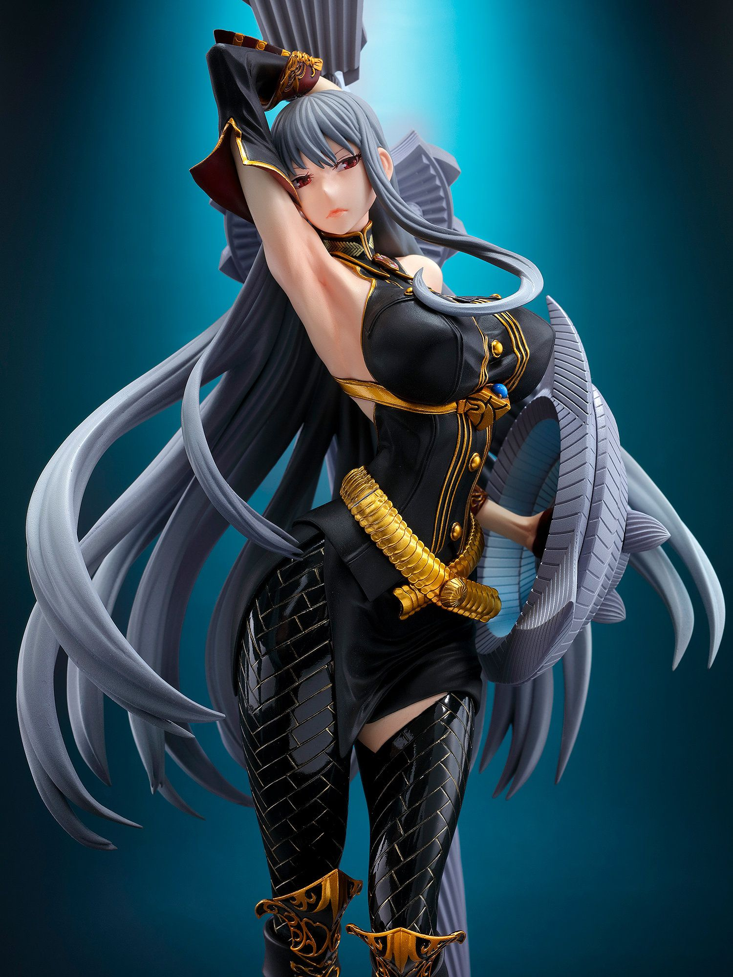 New Selvaria Figure from Valkyria Chronicles Looks