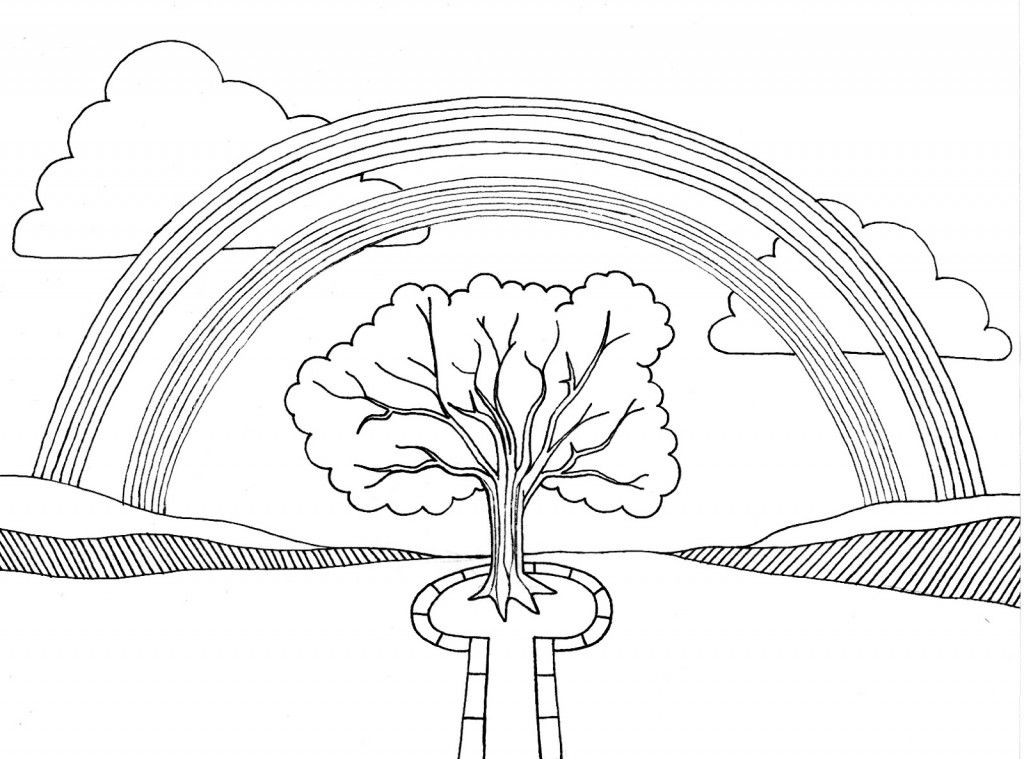 free printable rainbow coloring pages for kids  halaman