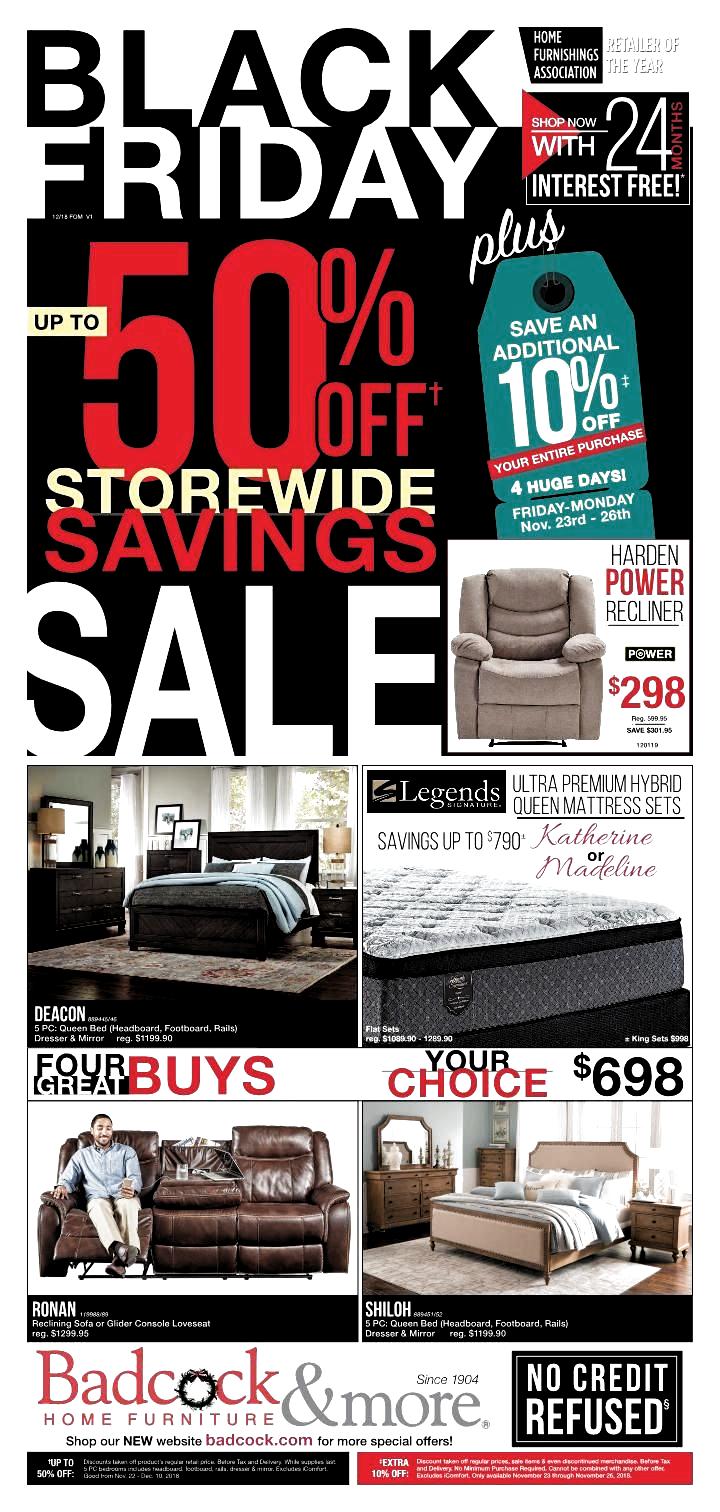 black friday furniture deals 2019