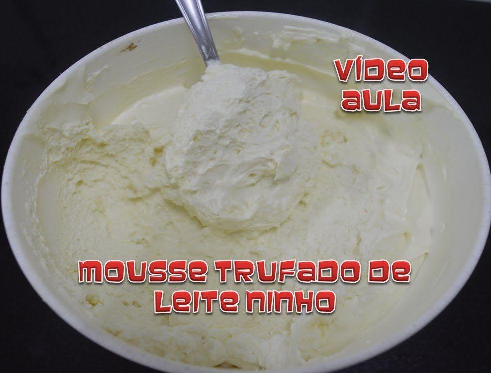 Preferência Mousse trufado de leite ninho | Feito e aprovado | Pinterest KK26