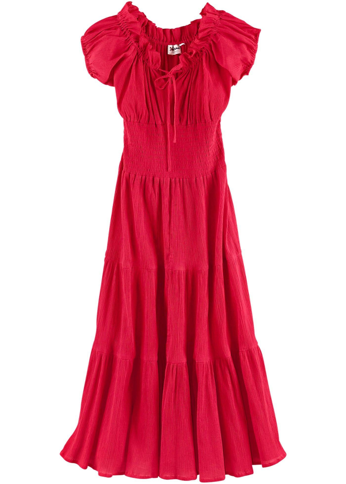 Sommer-Carmen-Kleid in 16  Sommerkleid, Bohemian mode, Carmen kleid