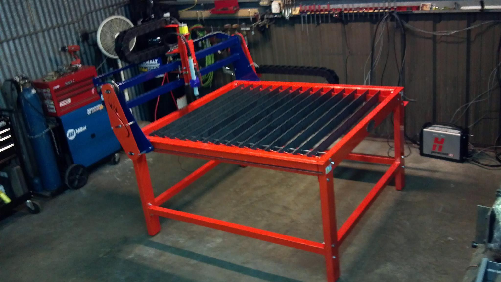 4x4 Cnc Burntables Plasma Table Metalart Wallhanging
