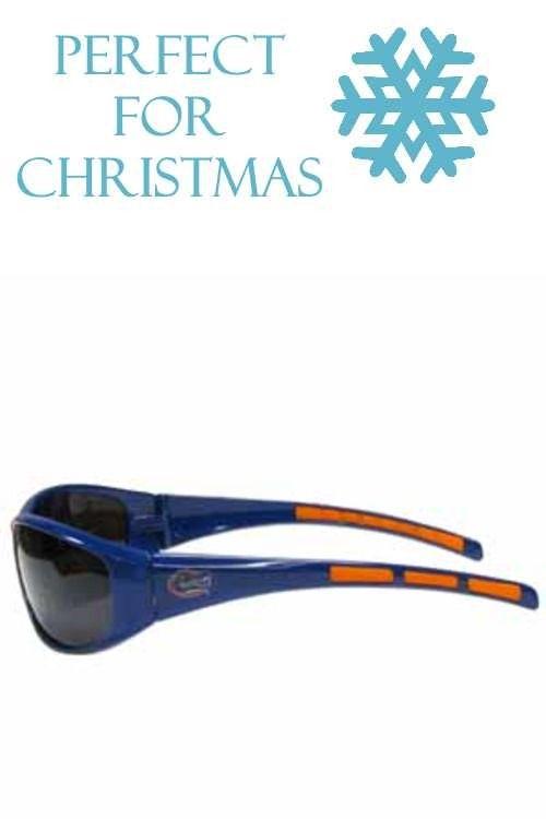d6dd26c1f0c1 Our collegiate Florida Gators wrap style sports memorabilia sunglasses have  the Florida Gators school logo screen