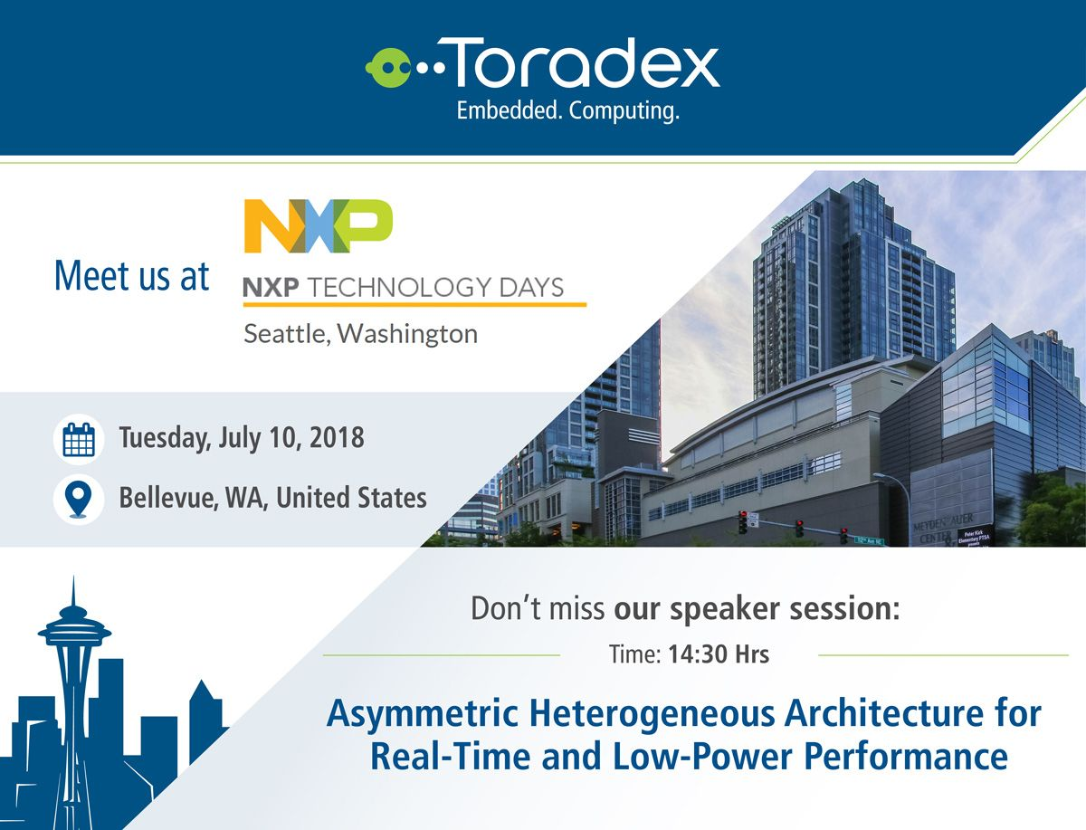 Save The Date To Meet Us At The Upcoming Nxp Technology Days 2018 In Bellevue Wa On July 10 We Ve Got An Exciting Speaker Session On Asymmetric Heterogeneo