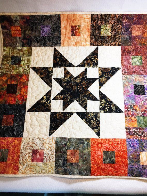 Homemade Quilts For Sale >> Handmade Quilts For Sale Baby Play Mat Earth Tone Crib Quilt