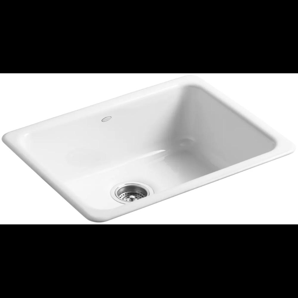 Kohler K 6585 Build Com In 2020 Cast Iron Kitchen Sinks Single Basin Kitchen Sink Single Basin
