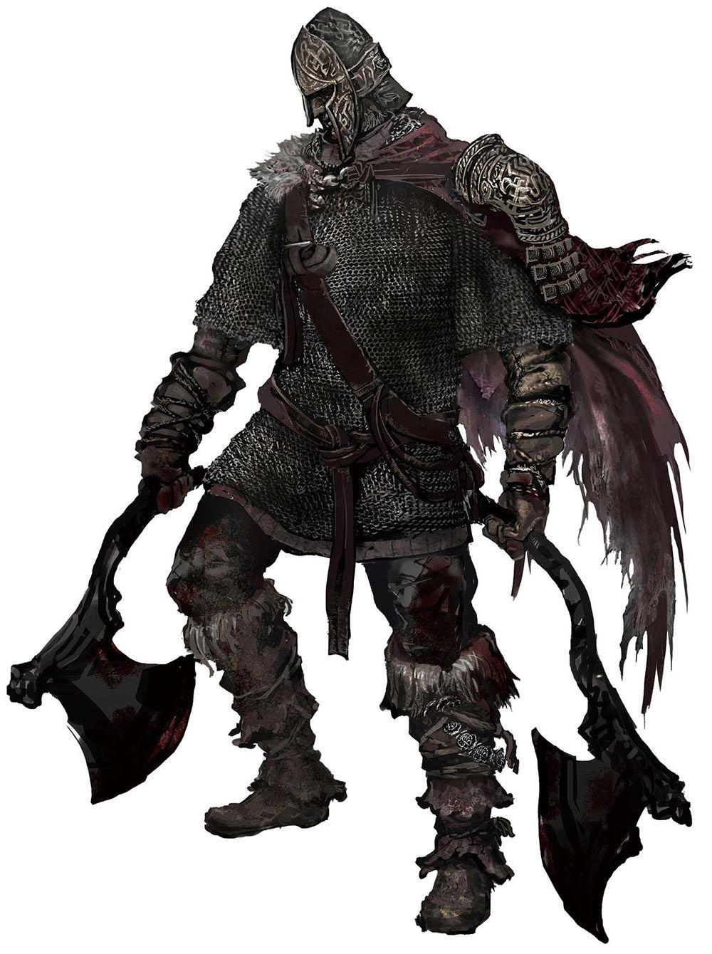 Northern Warrior Dark Souls Artwork Dark Souls Dark Souls Art