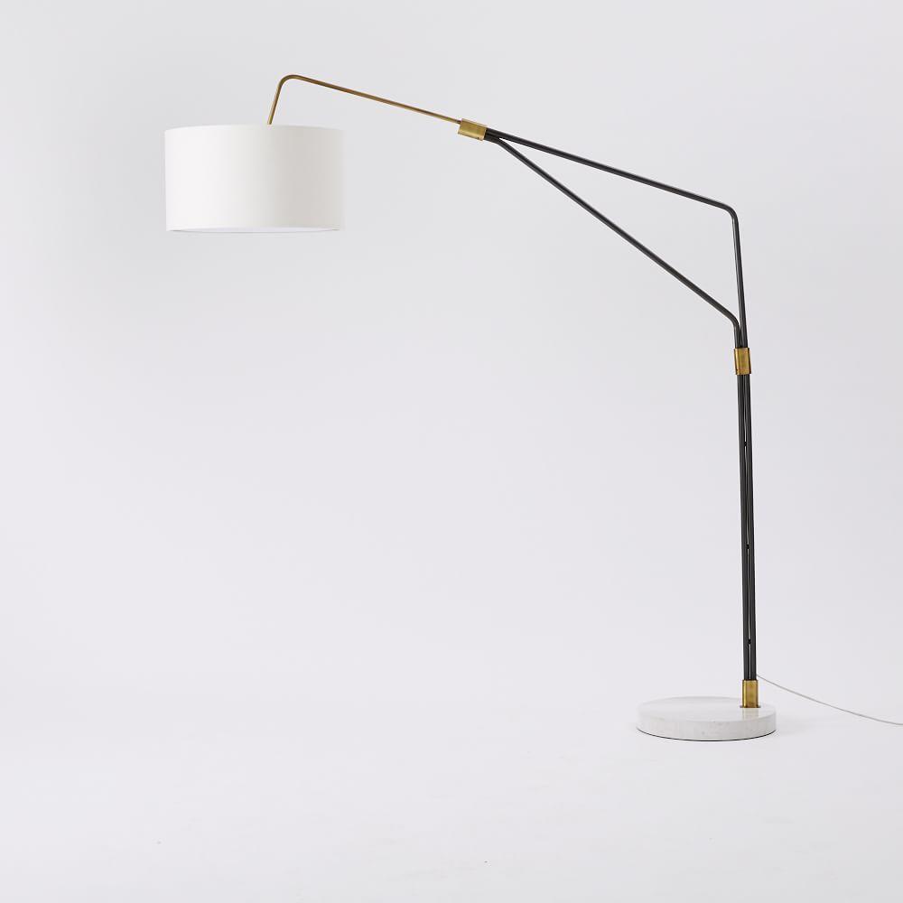 westelm lighting. Mid Century Over-arching Floor Lamp West Elm Westelm Lighting A