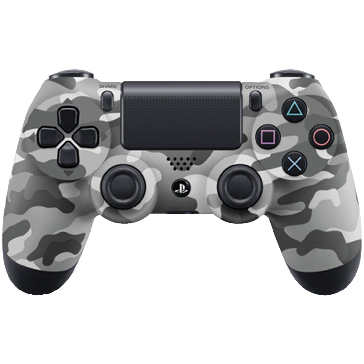 Amazon.com: DualShock 4 Wireless Controller for PlayStation 4 - Urban  Camouflage: Video