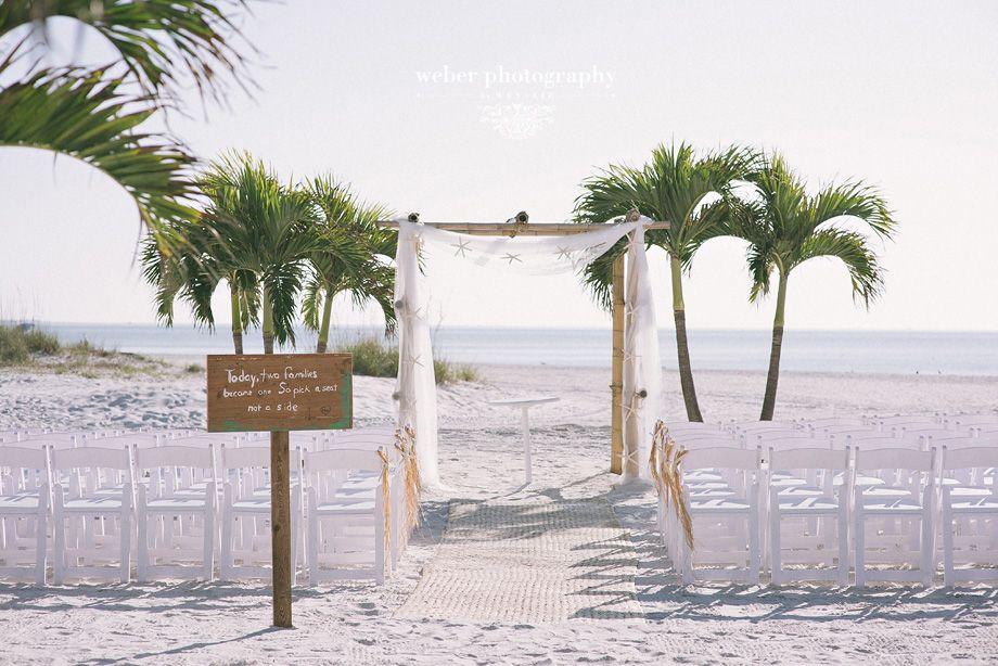 Beach Wedding Grand Plaza St Pete Florida Set Up Www Grandplazaflorida Destination Photography Weber