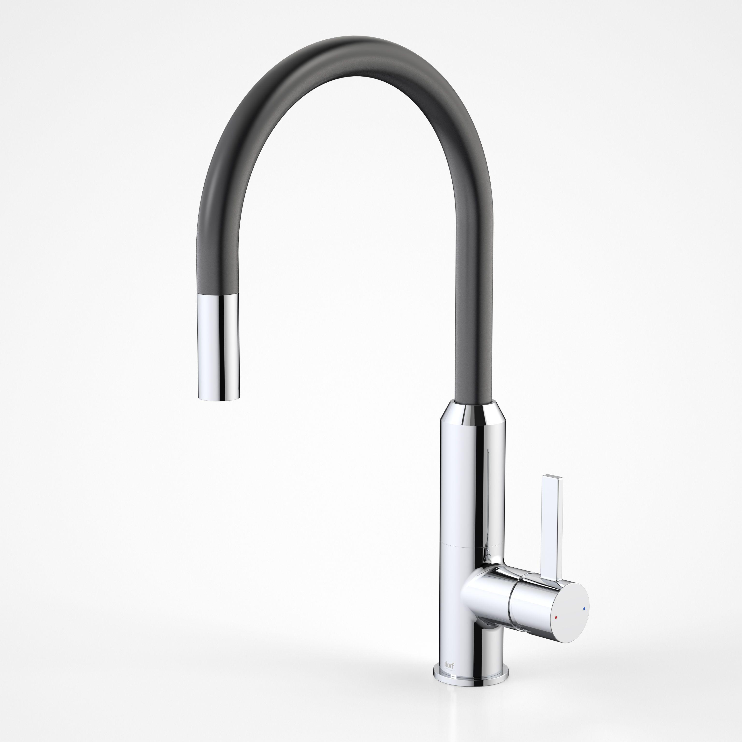 Dorf Vixen Sink Mixer ..for the monochrome kitchen http://dorf.com ...