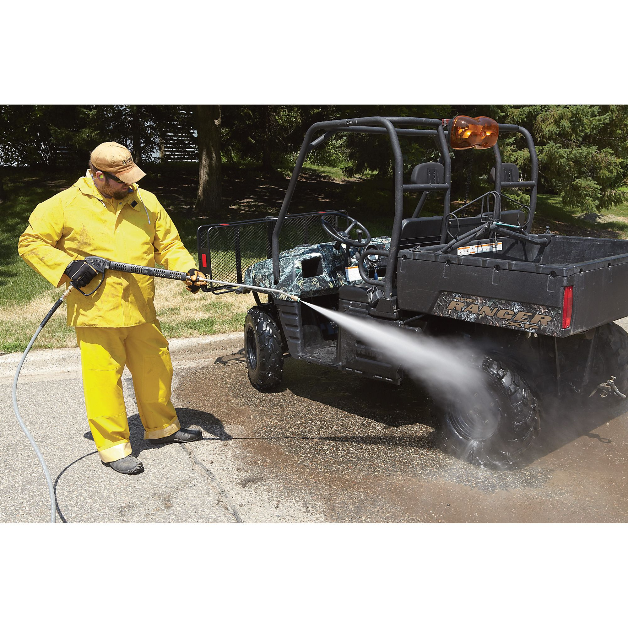 Northstar Gas Cold Water Pressure Washer 4 000 Psi 3 5