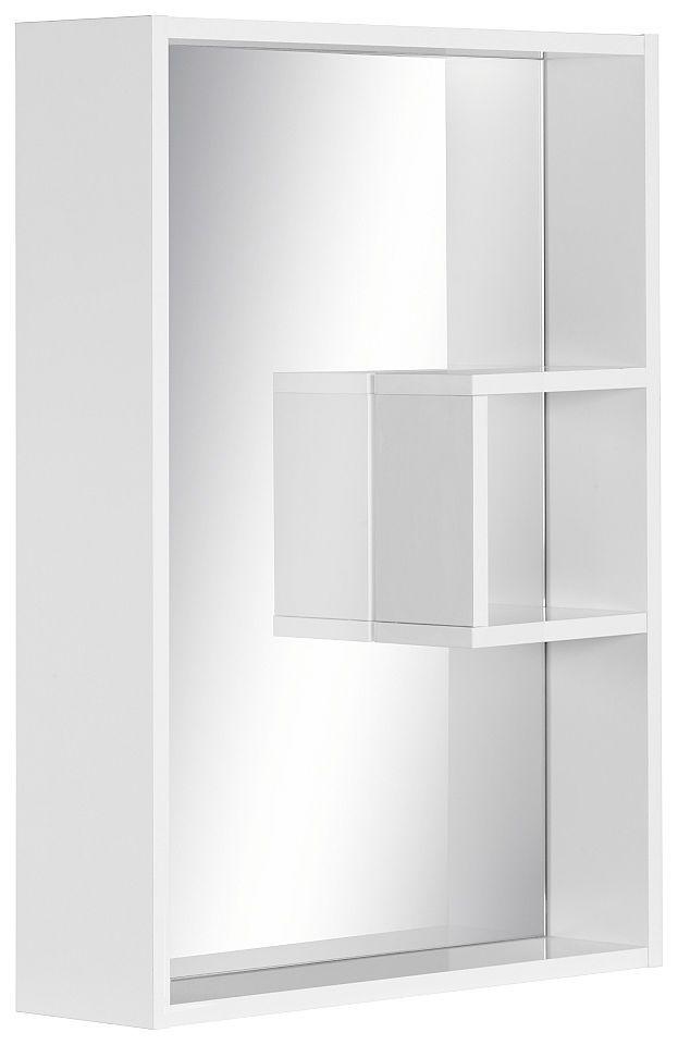 Schildmeyer Spiegelelement »Box«, mit Regal Jetzt bestellen unter - spiegel badezimmer mit beleuchtung
